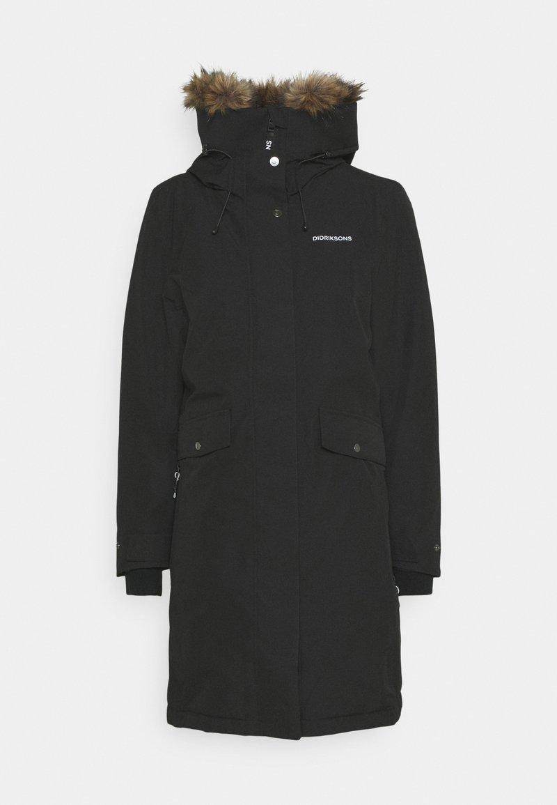 Didriksons - ERIKA WOMENS - Outdoor jacket - black