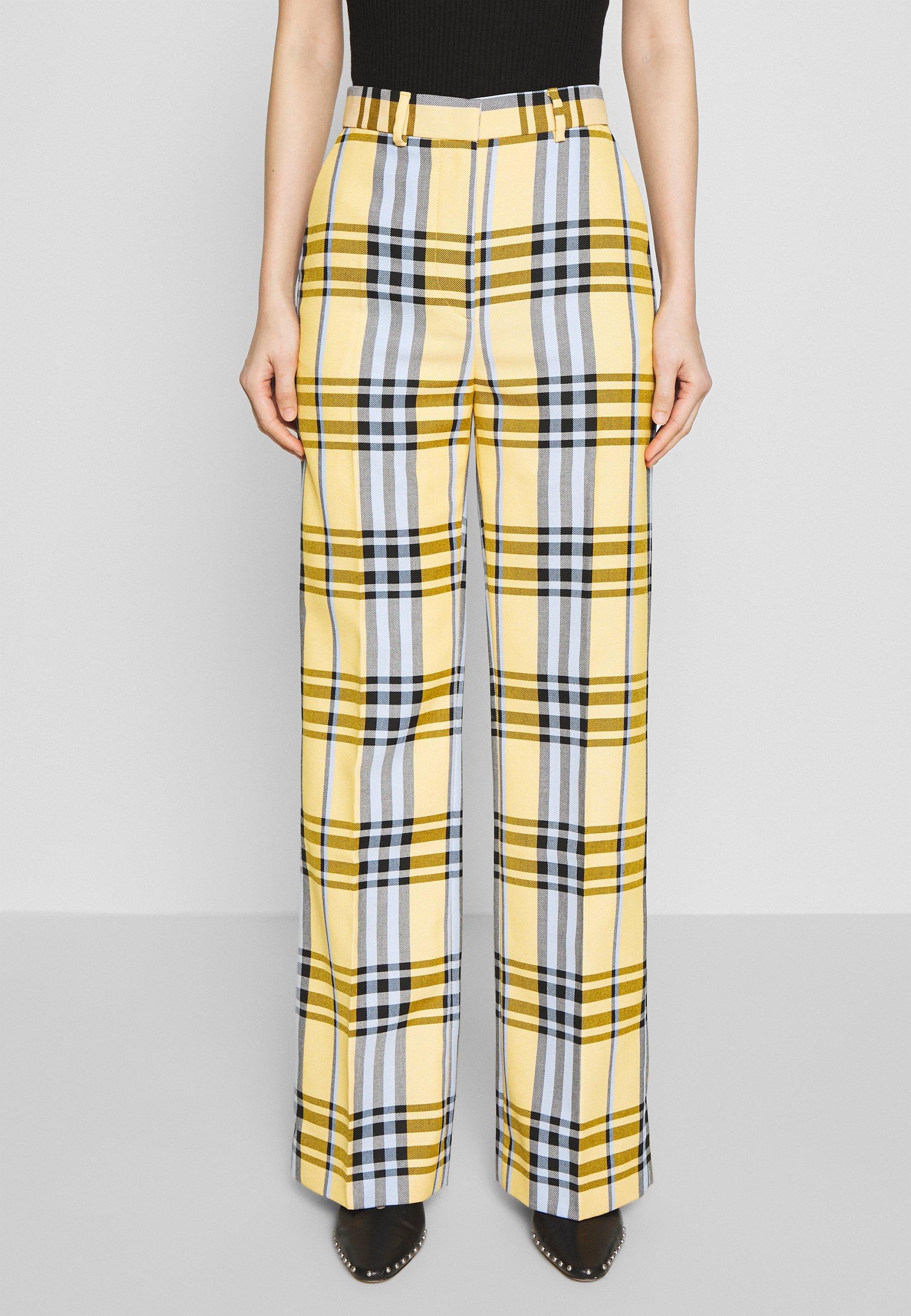 2nd Day BLINIE DASHING - Pantalon classique - banana - Pantalons & Leggings Femme 5Mlqb