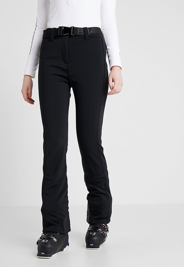 SLIM PANT - Talvihousut - black