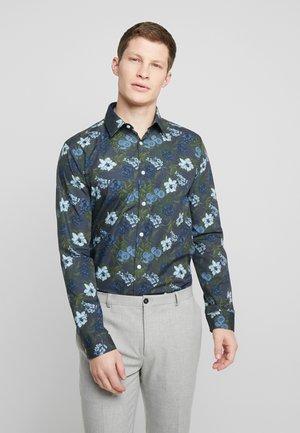 LARGE FLORAL - Skjorter - blue