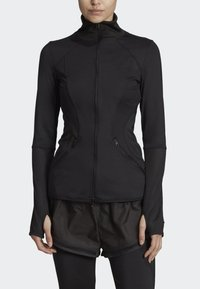 adidas by Stella McCartney - ESSENTIALS MID-LAYER TRACK TOP - Trainingsvest - black - 1