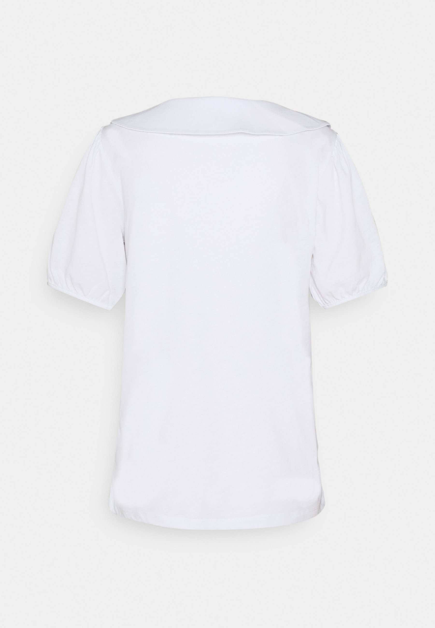 Vila Vikavilla - T-shirts Med Print Optical Snow/hvit