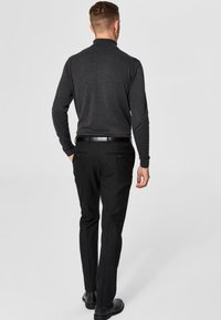Selected Homme - SLHTOWER ROLL   - Jumper - anthracite - 2