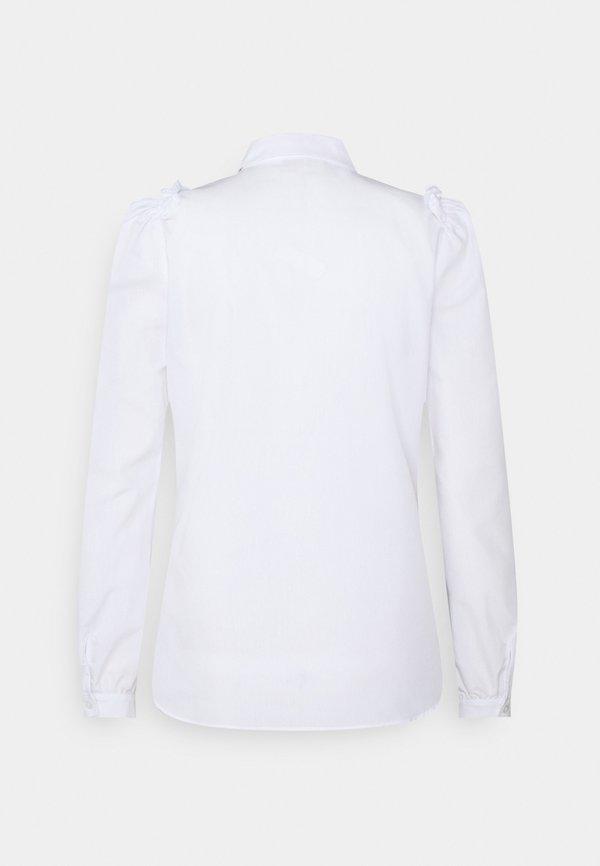 Freequent GIGI COLLAR - Koszula - bright white/czarny UHAF