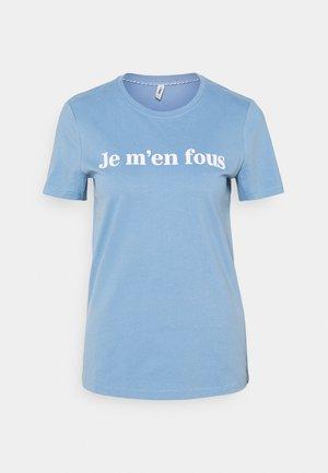 ONLMINNA LIFE BOX - Print T-shirt - allure