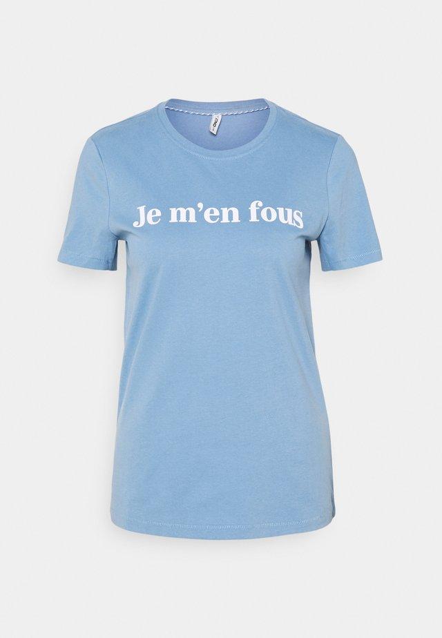 ONLMINNA LIFE BOX - T-shirt print - allure