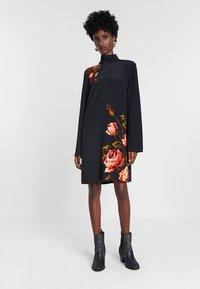 Desigual - DESIGNED BY M. CHRISTIAN LACROIX - Jumper dress - black - 1