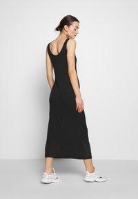 Pieces - MAXI TANK DRESS - Vestido largo - black - 2