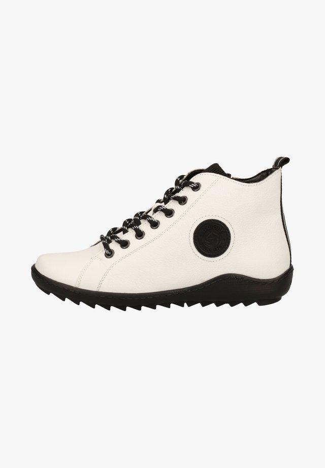Sneakers - weiss/schwarz