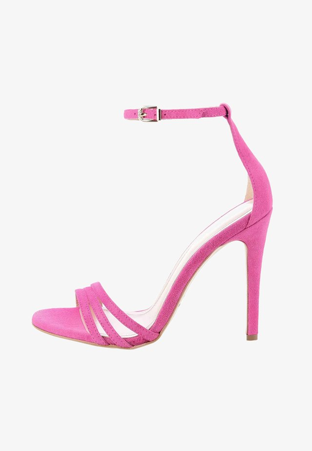 SARULE  - High heeled sandals - pink