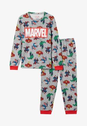 MARVEL - Pyjamas - grau  light grey blend avengers print