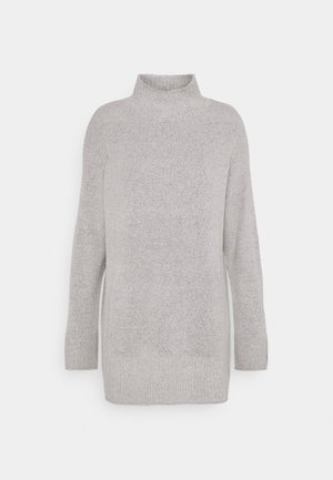 TURTLE NECK - Jumper - light grey melange