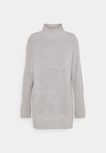 TURTLE NECK - Jumper - light grey melange
