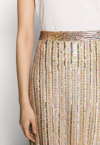 MANÉ - LAELIA SKIRT - A-line skirt - champagne/gold - 5