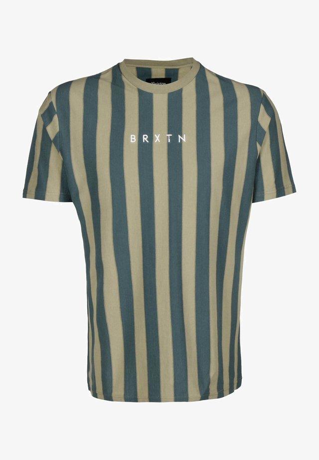 T-shirt print - sage/emerald