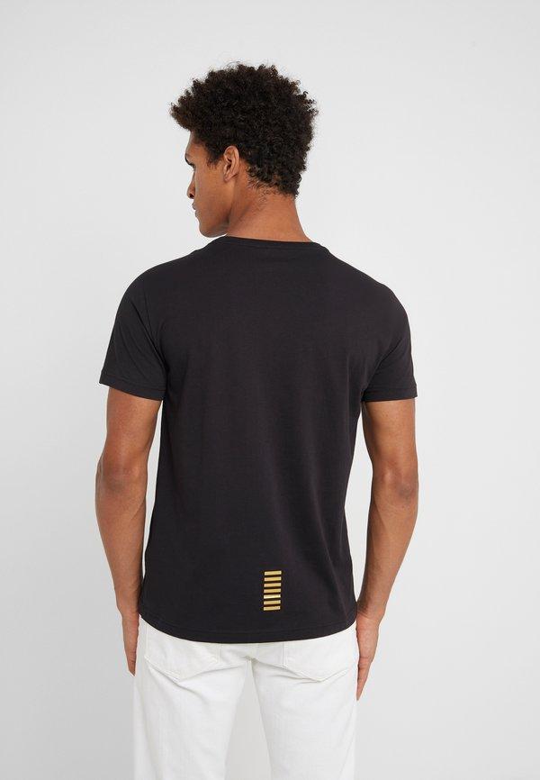 EA7 Emporio Armani T-shirt basic - black/czarny Odzież Męska UYET