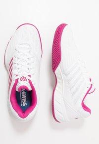 K-SWISS - BIGSHOT LIGHT 3 - Multicourt tennis shoes - white/cactus flower - 1