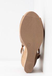 Felmini - MARY - High heeled sandals - taupe - 5