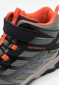 Merrell - MOAB FST MID A/C WTRPF - Outdoorschoenen - olive/black - 5