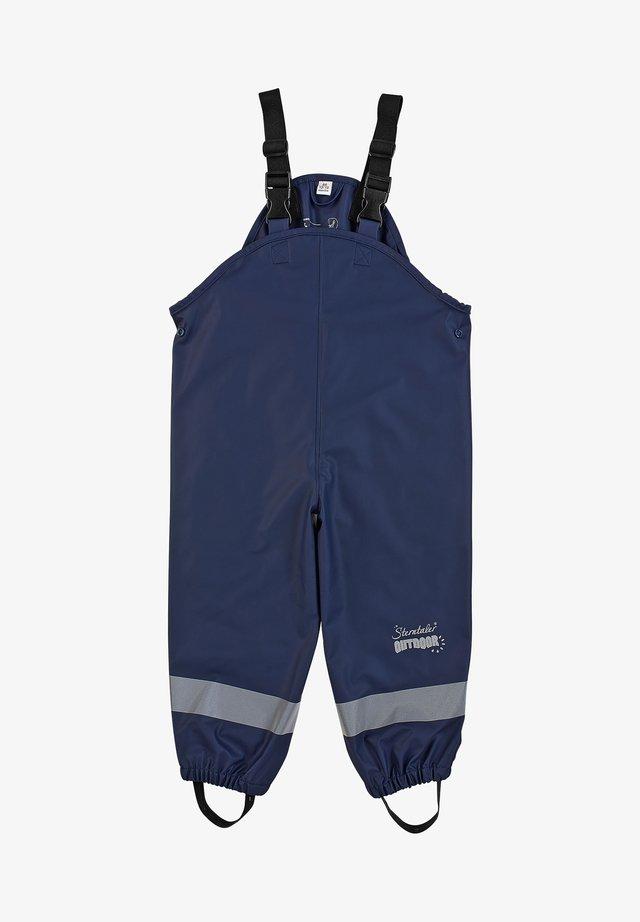 REGENTRÄGER - Rain trousers - marine