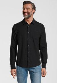 Scotch & Soda - OXFORD - Shirt - black - 0