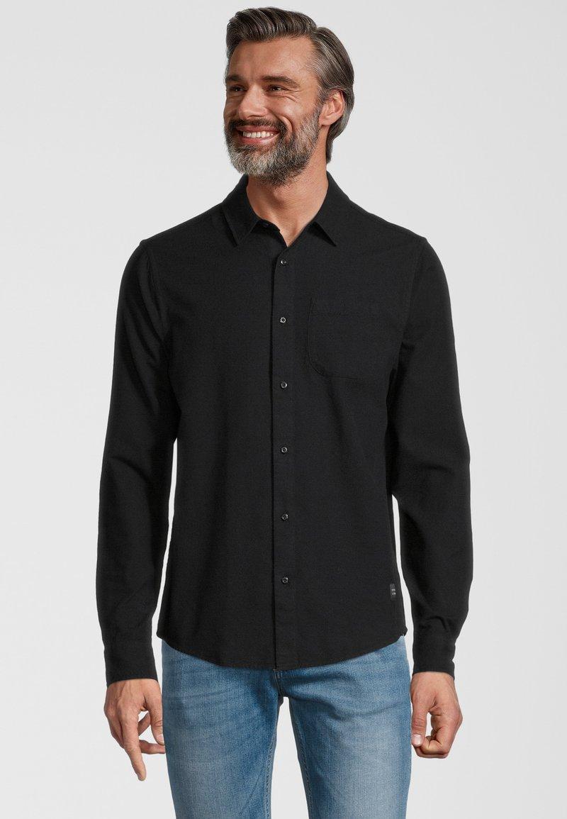 Scotch & Soda - OXFORD - Shirt - black