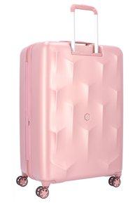 Hedgren - EDGE CARVE - Wheeled suitcase - blush - 1