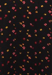 TOM TAILOR DENIM - PRINTED SPORTY BLOUSE - Blouse - black/red - 2
