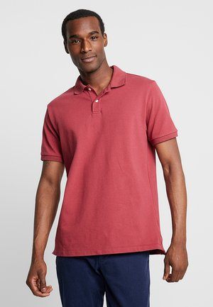 Polo shirt - indian red