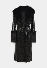 Missguided Tall - CROC - Trenchcoat - black - 0