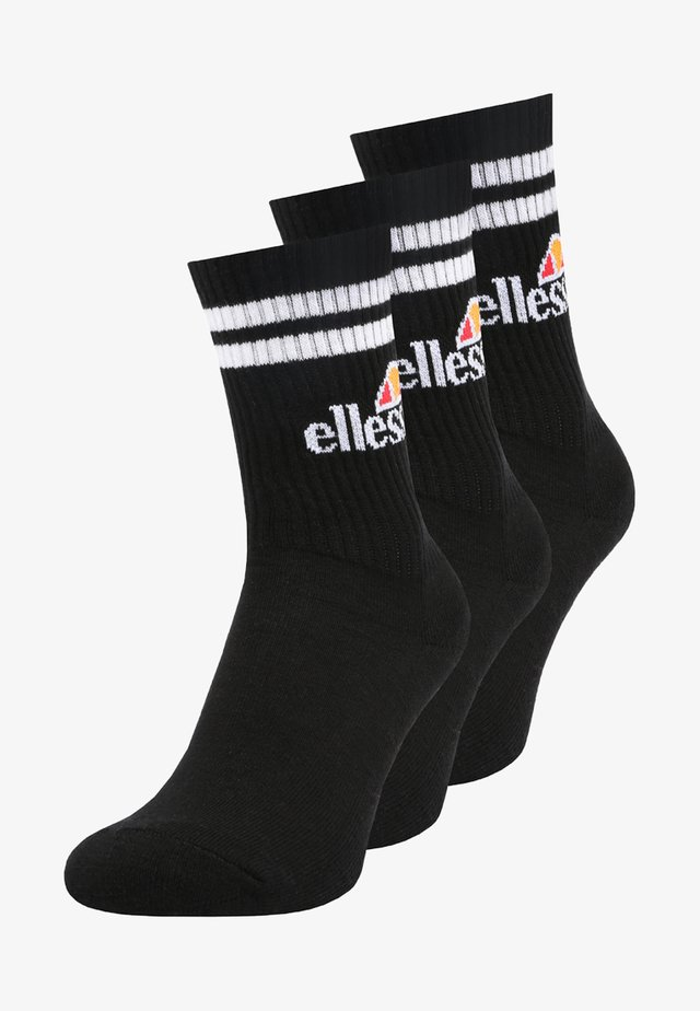 PULLO 3 PACK - Chaussettes - black