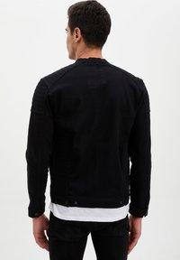 DeFacto - Kurtka jeansowa - black - 2