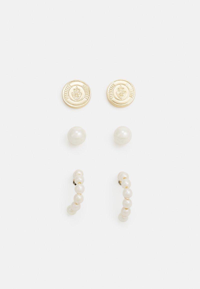 Lauren Ralph Lauren - 3 PACK - Earrings - white