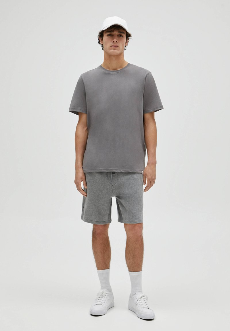 PULL&BEAR - 3 PACK - T-shirt - bas - white