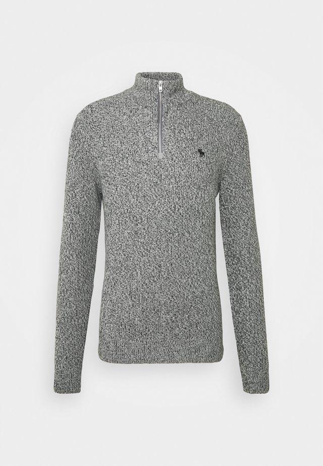 Jumper - textured grey