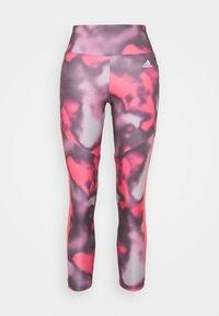 adidas Performance - AEROREADY TRAINING SPORTS - Leggings - pink/white - 5
