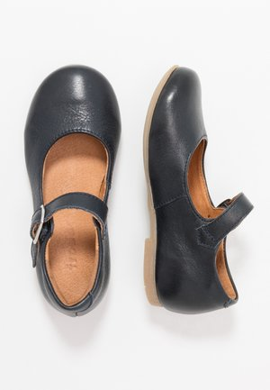 FIONAS BUCKLE NARROW FIT - Bailarinas con hebilla - dark blue
