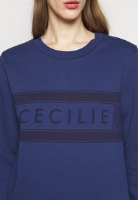 CECILIE copenhagen - MANILA - Sweatshirt - twilight blue - 5