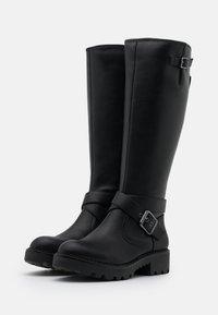 Buffalo - MARCOS - Cowboy/Biker boots - black - 2