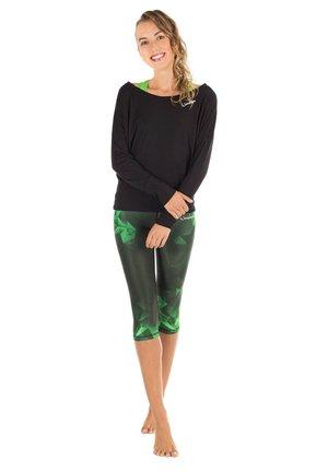 AEL202 - Pantalón 3/4 de deporte - smaragd