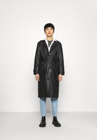 Deadwood - TERRA COAT - Trenchcoat - black - 0