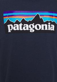 Patagonia - LOGO RESPONSIBILI TEE - T-shirts print - classic navy - 2