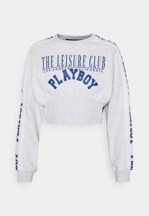 PLAYBOY SPORTS WAIST - Sweatshirt - grey marl