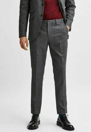 ELEGANTE - Suit trousers - grey
