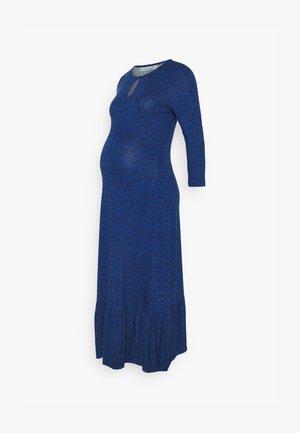 DITSY TIERED MIDI DRESS - Vestito di maglina - blue