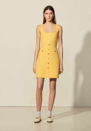 CANNELLE - Shirt dress - jaune
