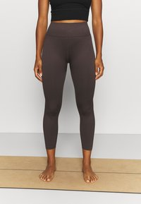 Cotton On Body - SEAMLESS HI LOW 7/8 - Tights - peppercorn - 0
