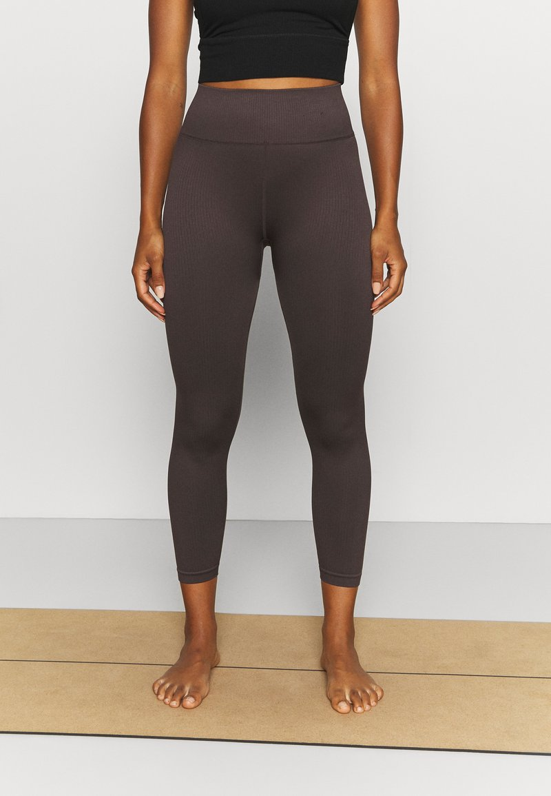 Cotton On Body - SEAMLESS HI LOW 7/8 - Tights - peppercorn