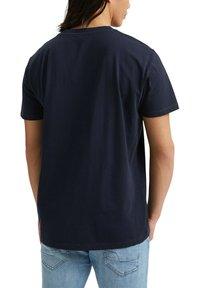 Esprit - Basic T-shirt - navy - 4