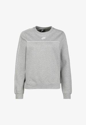 Felpa - dark grey heather/white